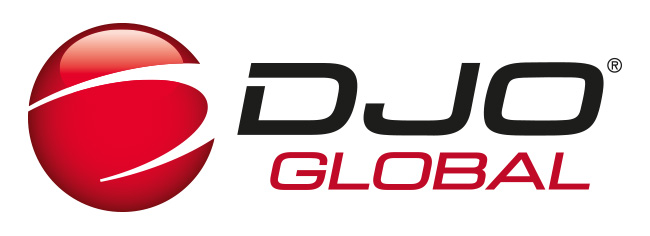 DJO Global® logo cmyk 3D